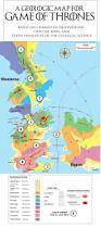 Geological Map The Geology Of Game Of Thrones Miles Traer