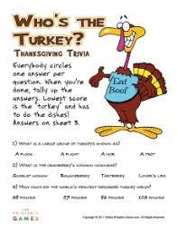 free printable thanksgiving trivia for happy thanksgiving
