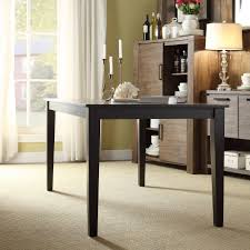 Black Dining Table Lexington Round Dining Table Black Contemporary Style