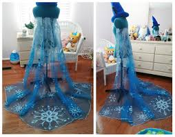 queen elsa of arendelle ice dress construction notes