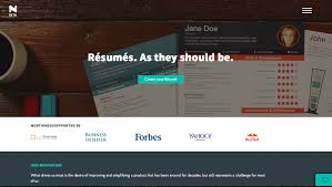 Free Online Resume Builder For Students by Create Good Looking Résumés With Novorésumé Eduk8me