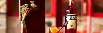 campari bottle rediscoverred at the negroni bar by campari drinkup london