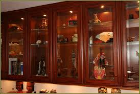 glass kitchen cabinet doors dark wood kitchen cabinets with glass