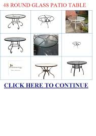 Glass Patio Table Top 48 Round Glass Patio Table 48 Round Glass Patio Table Top