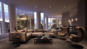 Livingroom Nyc A New Lower Manhattan Tower With Panoramic Views Of The New York