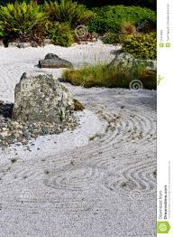 japanese dry rock garden stock photo image of view summer 15419990