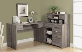 Home Office Corner Desk Australia Monarch Specialties Corner Desk With Hutch Best Home Furniture