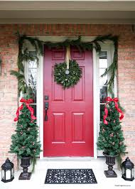 christmas front door the easy way i heart nap time