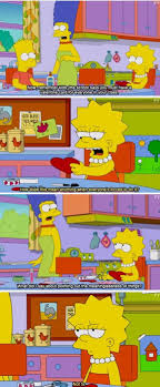 simpsons valentines day card simpsons