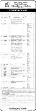 statistics bureau pakistan bureau of statistics november 2016 nts application form