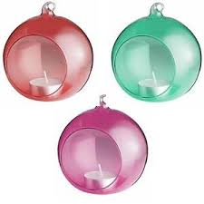 glass baubles decorations trees ebay