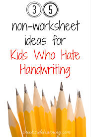 tracing paper for writing practice handwriting activities for kids no worksheets 35 non worksheet ideas for kids who hate handwriting