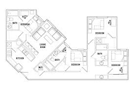 bath floor plans floor plans the varsity student housing college park md