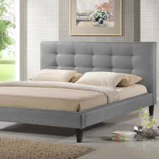 baxton studio quincy gray queen upholstered bed 28862 4820 hd