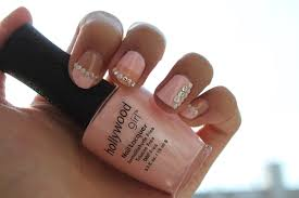 sara nail hollywood baby pink nail polish hg276 girly nail art