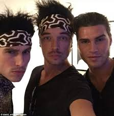 zoolander headband the bachelorette s david witko attends model zoolander 2