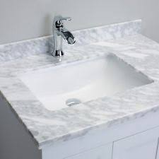 White Bathroom Vanity With Carrera Marble Top by Carrera Marble Vanity Top Ebay