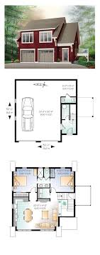 garage floor plans with apartments above garage apartment plan 64817 total living area 1068 sq ft 2