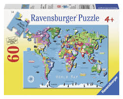 World Map Puzzles by Ravensburger Puzzle World Map Images
