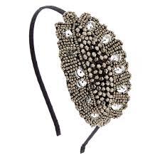 beaded headband vintage silver beaded headband icing us