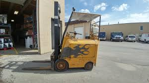 our 1956 towmotor forklift hard at work 60 years later