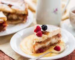cuisine anglaise recette recette diplomate à la crème anglaise