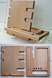 Diy Wooden Desktop by Best 25 Wood Docking Station Diy Ideas On Pinterest Wooden