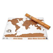 World Scratch Map by Luckies Scratch Map World Scratch Map Poster Huckberry