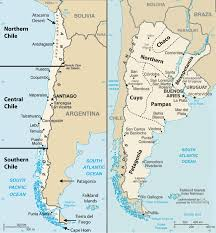 chile physical map 6 4 the southern cone world regional geography places