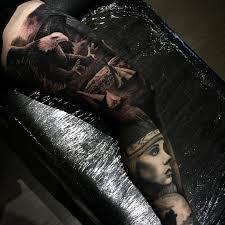 thigh sleeve tattoo designs leg sleeve tattoo best tattoo ideas gallery