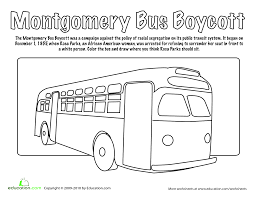 coloring page rosa parks coloring page coloring page and