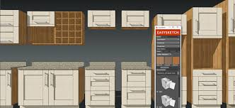 Kitchen Cabinet Supplier Easysketch Kitchen Design Plugin Sketchup Extension Warehouse