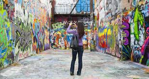 statues monuments and murals visit baltimore graffiti alley in station north