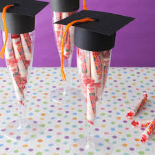 graduation cap covers three easy graduation favors anyone can make
