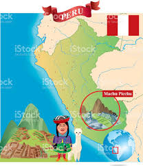 Cusco South America Map by Cartoon Map Of Peru Stock Vector Art 484053924 Istock