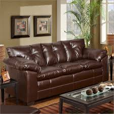 Simmons Upholstery Furniture 6569 Sebring Bonded Leather Sofa By Simmons Upholstery And