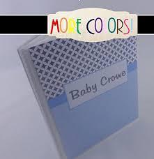 5x7 brag book baby photo album 369 blue and gray baby album 4x6