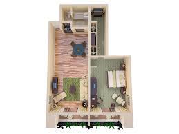 elara 4 bedroom suite floor plan hilton waikoloa village 3d floor plans