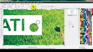 membuat gambar transparan di corel draw x7 membuat tulisan tembus objek di coreldraw youtube