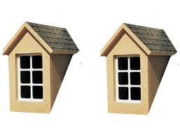House Dormer 12th Scale Dolls House Dormer Window Kit Hobbies Streets Ahead