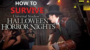 what time does universal studios close during halloween horror nights how to survive halloween horror nights youtube