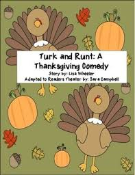 reader s theater and runt a thanksgiving comedy thanksgiving