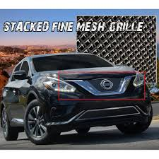 nissan murano nudge bar billet grilles custom grills for your car truck jeep or suv