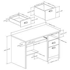 Height Of Office Desk Typical Desk Height Office Desk Dimensions Chic Home Standard