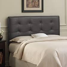 grey leather headboard beautiful tufted leather headboard grey