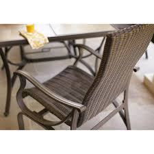 Hampton Bay Patio Dining Set - hampton bay model hd14216 pembrey 9 piece patio dining set with