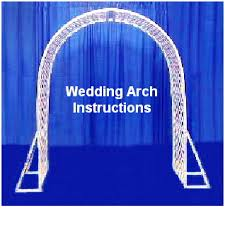 wedding arches to make how to make wedding arches your rental source for party