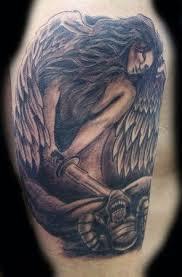 22 besten good and evil tattoos bilder auf pinterest gut und