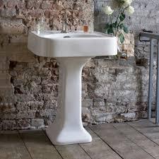 arcade 36 u201d sink pedestal set in belgravia crosshead luxury
