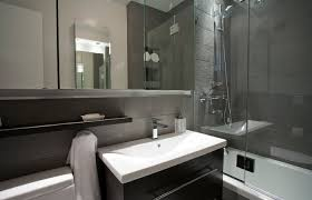 Modern Bathrooms For Small Spaces Modern Small Bathroom Design With Shower Wood Ideas Bathrooms